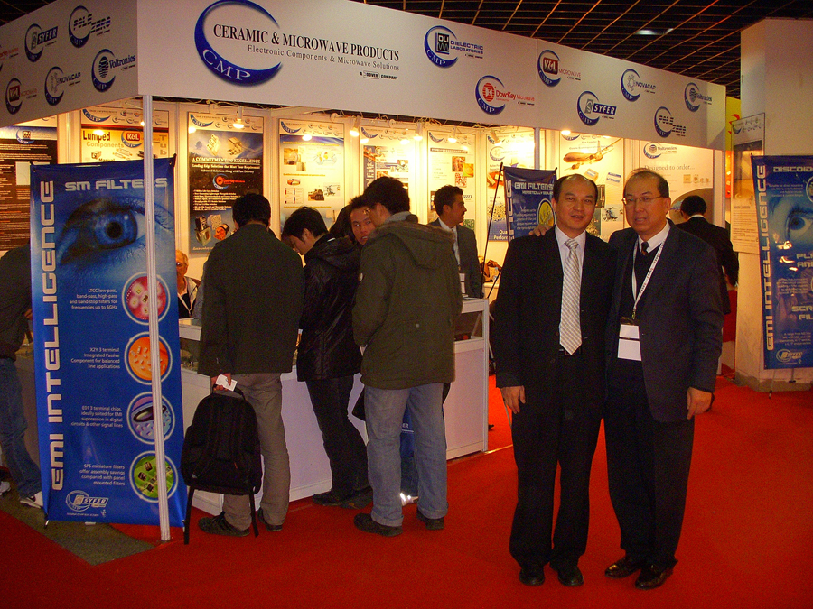 Photo: Attending IME/China 2009 show