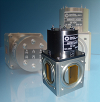 Photo: Lightweight waveguide switches